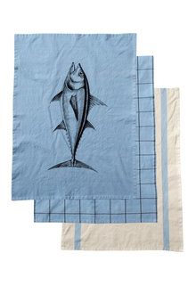 Cuisine Tea Towels Set of Three