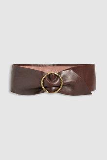 Next Wide Turtle Buckle Belt - 232480