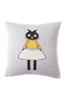 Chloe Cat Knitted Cushion