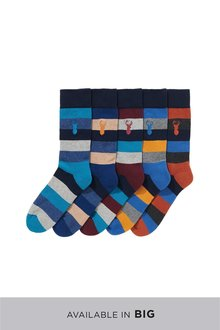 Next Cushioned Sole Socks Five Pack