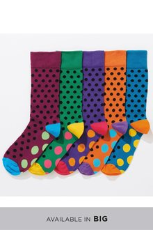Next Spot Socks Five Pack