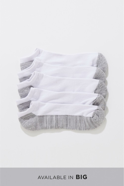 Next Cushioned Trainer Socks Five Pack