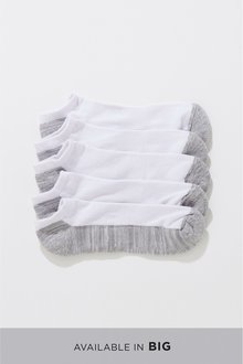 Next Cushioned Trainer Socks Five Pack - 232586