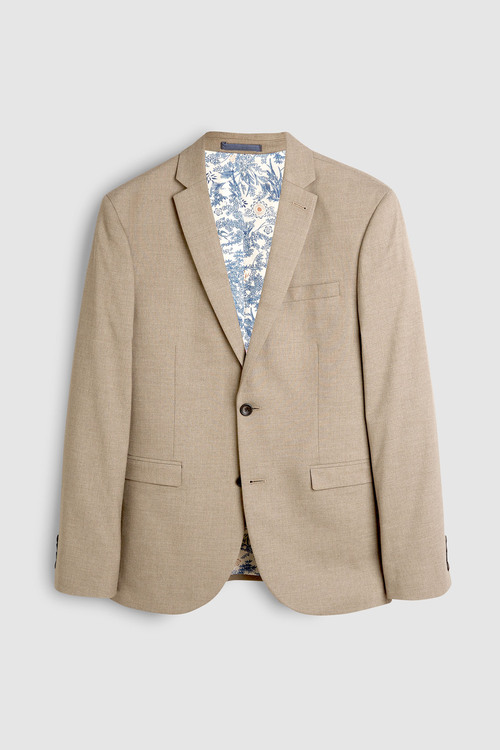 Next Stretch Marl Suit: Jacket -Slim Fit