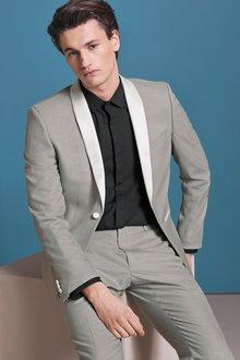 Next Tuxedo Suit: Jacket -Skinny Fit