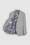 Next Regular Fit Check Suit: Jacket