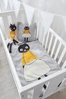 Chloe Cat Knitted Baby Blanket