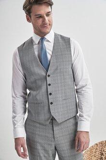 Next Check Suit: Waistcoat - 232648