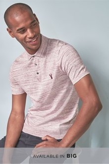 Next Yarn Interest Knitted Polo