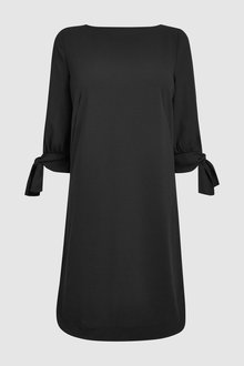 Next Tie Sleeve Shift Dress- Tall - 232680