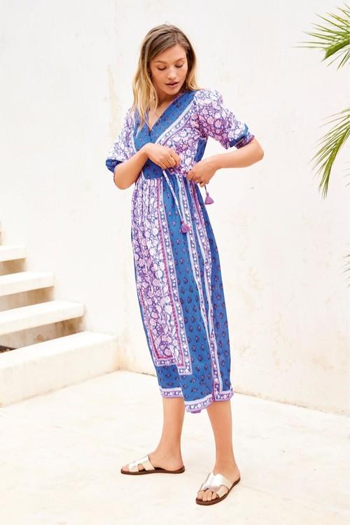 Next Wrap Maxi Dress
