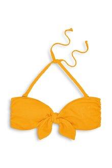 Next Tie Front Bandeau Bikini Top