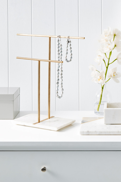 The Dressing Room Marble Jewellery Stand