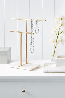 The Dressing Room Marble Jewellery Stand - 232735