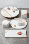 The Cake Shop Marble Lazy Susan