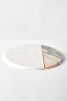 The Cake Shop Marble Round Tray