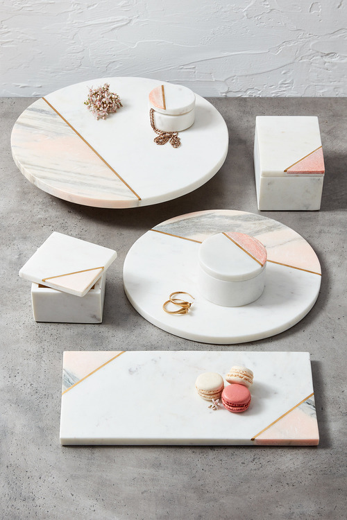 The Cake Shop Rectangle Marble Tray