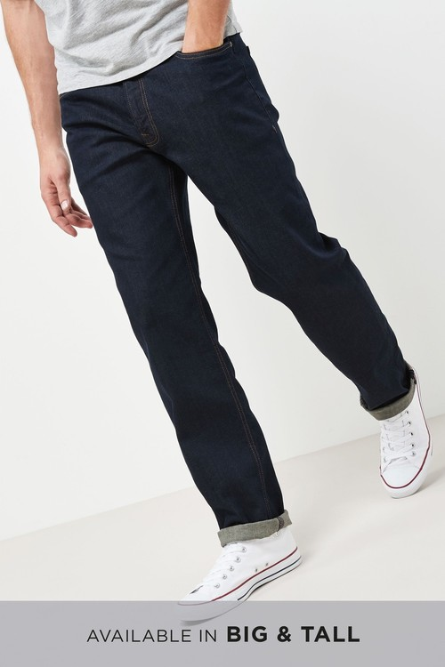 Next Jeans With Stretch -Straight Fit