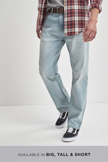 Next Belted Jeans With Stretch -Loose Fit