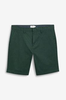Next Slim Stretch Chino Shorts
