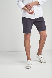 Next Geometric Printed Chino Shorts