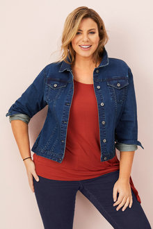Sara Short Denim Jacket - 232794