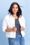 Plus Size - Sara Short Denim Jacket