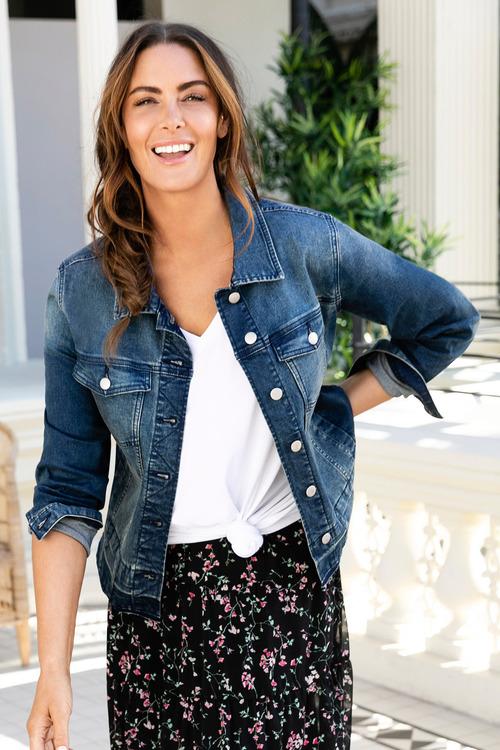 Plus Size - Sara Denim Jacket