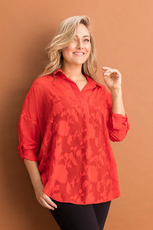 Sara Burnout Shirt - 232799