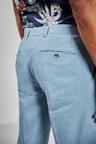 Next Linen Blend Skinny Fit Suit: Trousers -Slim Fit