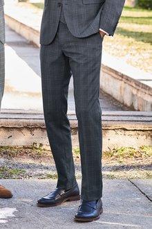 Next Slim Fit Check Suit: Trousers - 232844