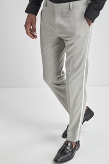 Next Tuxedo Suit: Trousers -Skinny Fit