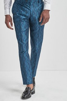 Next Jacquard Suit: Trousers