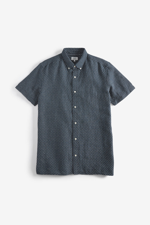 Next Textured Cross Shirt