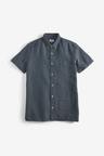 Next Textured Cross Shirt
