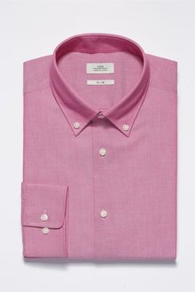 Next Easy Care Oxford Shirt -Slim Fit Single Cuff