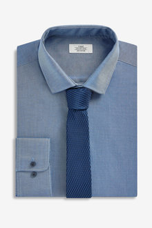 Next Tonic Shirt And Tie Set
