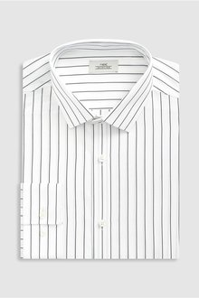 Next Stripe Slim Fit Shirt
