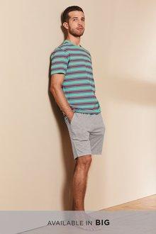 Next Stripe Jersey Short Set