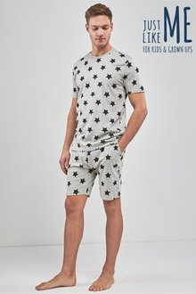 Next Matching Family Mens Star Pyjamas