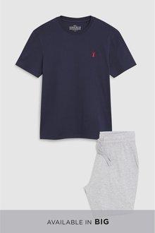 Next Jersey Short Pyjama Set - 232955