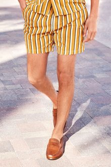 Next Vertical Stripe Swim Shorts
