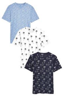 Next Printed T-Shirts Three Pack