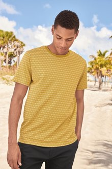Next Palm Print T-Shirt