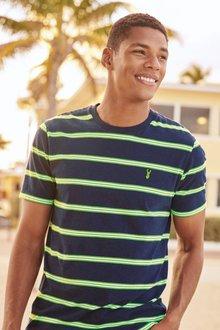 Next Fluro Stripe T-Shirt