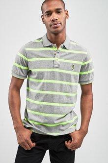 Next Neon Stripe Polo - 233033