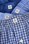 Next Pattern Woven Boxers Pure Cotton Four Pack