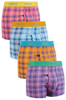 Next Check Print A-Fronts Four Pack