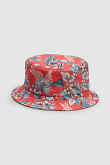 Next Hibiscus Print Fisherman's Hat (Older)