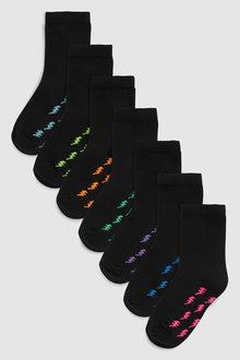 Next Lightning Bolt Socks Seven Pack (Older)